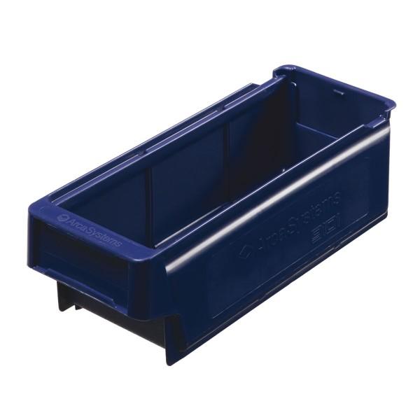 Regallade 9101, blau, 300x115x100 mm (LxBxH)