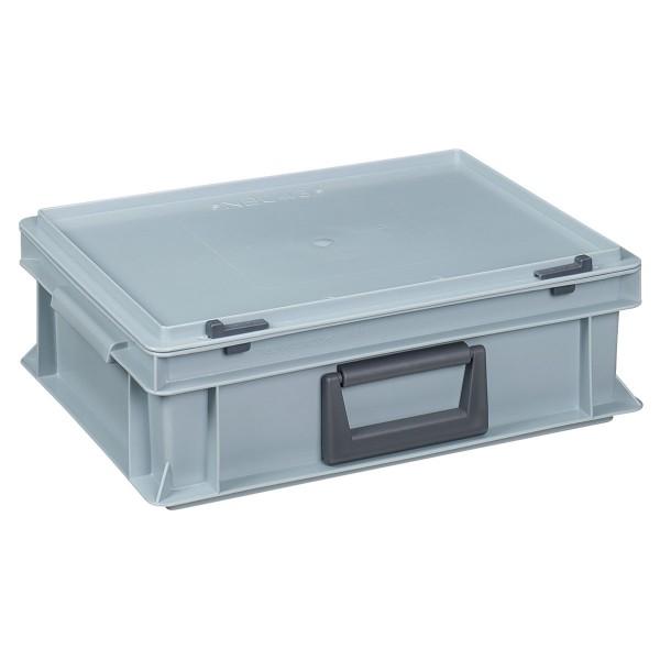 Kunststoffkoffer für staubfreie Lagerung