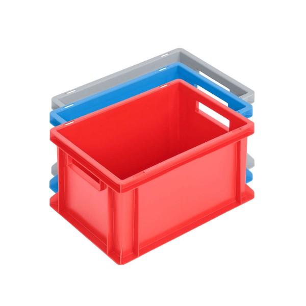 Newbox 20, v1 400x300x220 mm, Boden und Seitenwände geschlossen, Farbvarianten
