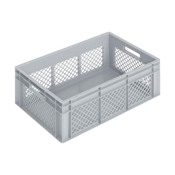 Newbox 50, v2 600x400x236 mm, Boden glatt, Seitenwände durchbrochen