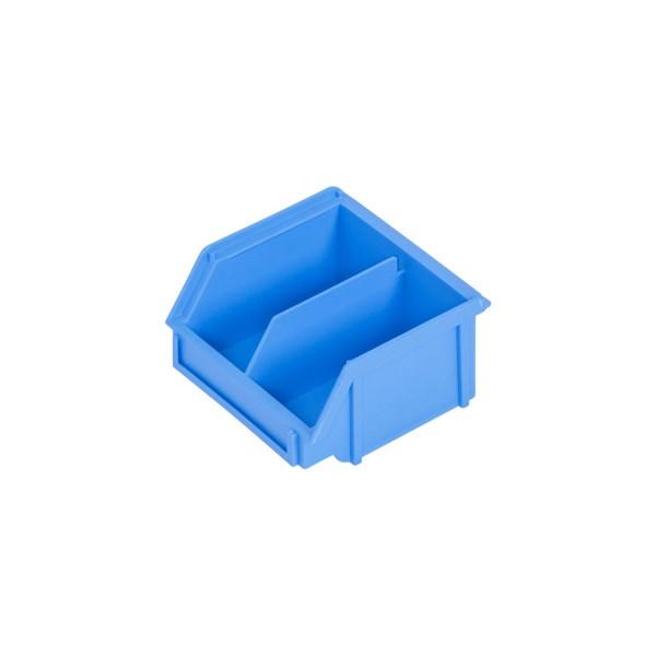 Depofix DF 6D, 90x100x52 mm, blau, 1 fixe Unterteilung