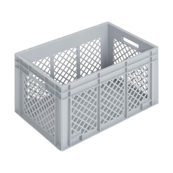 Newbox 70, v2, 600x400x340 mm, Boden glatt, Seitenwände durchbrochen