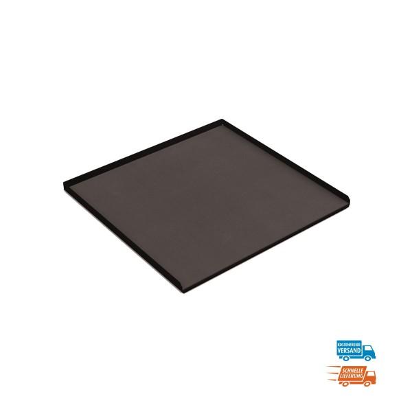 Abrollrand 20 mm hoch mit Gummimatte für Schubladenschrank 27x27, versandkostenfrei