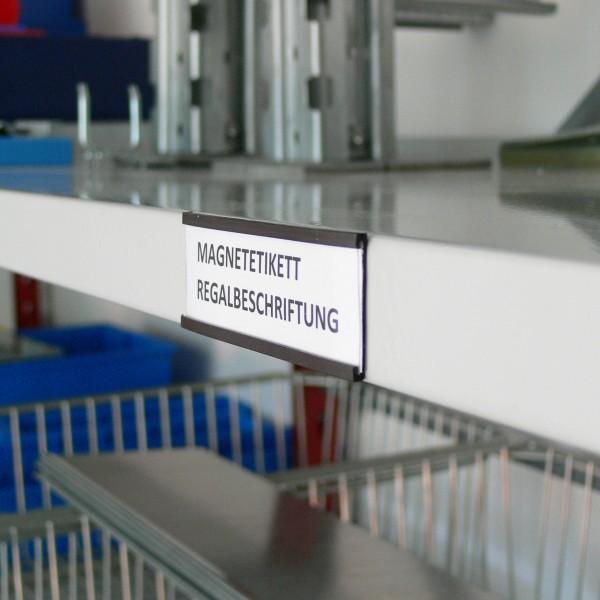 Magnetetikett zur praktischen Kennzeichnung - für mehr Ordnung und Übersicht im Lager