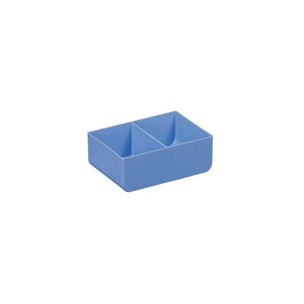 Einsatzkasten USN 8, blau, 2 Unterteilungen