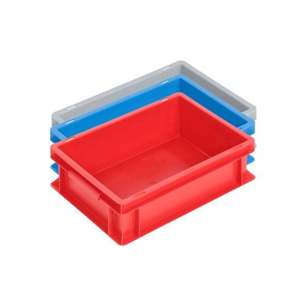 Newbox 10, v1 400x300x120 mm, Boden und Seitenwände geschlossen, Farbvarianten