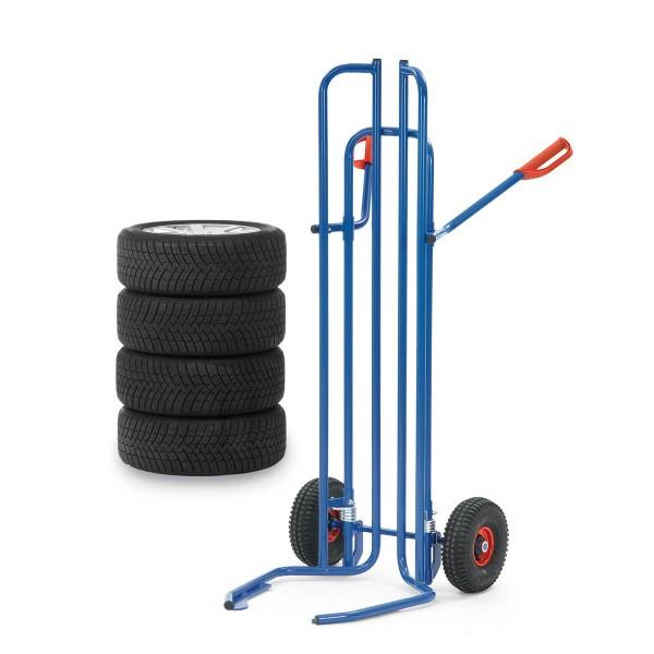 Reifenkarre für den Transport von 8 Reifen, Tragkraft 200 kg