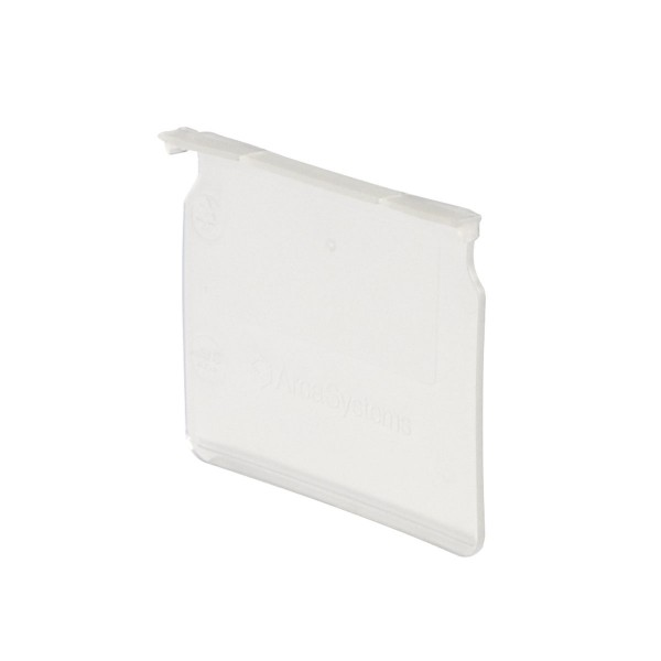 Serie 91 Ladenteiler 115 mm breit, transparent