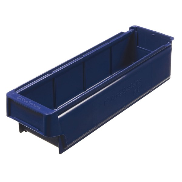 Regallade 9111, 400x135x100 mm, blau