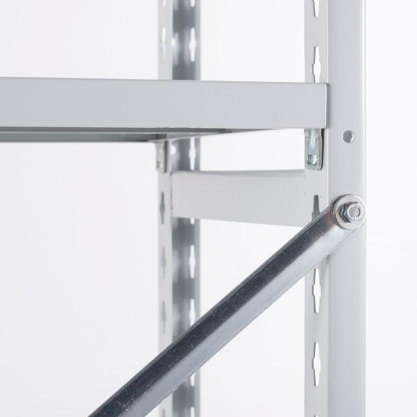 Kreuzverband für Regale mit 970 mm Fachbodenbreite