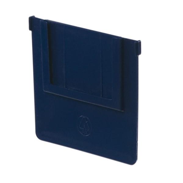 Ladenteiler Serie 45, 94 mm breit, blau