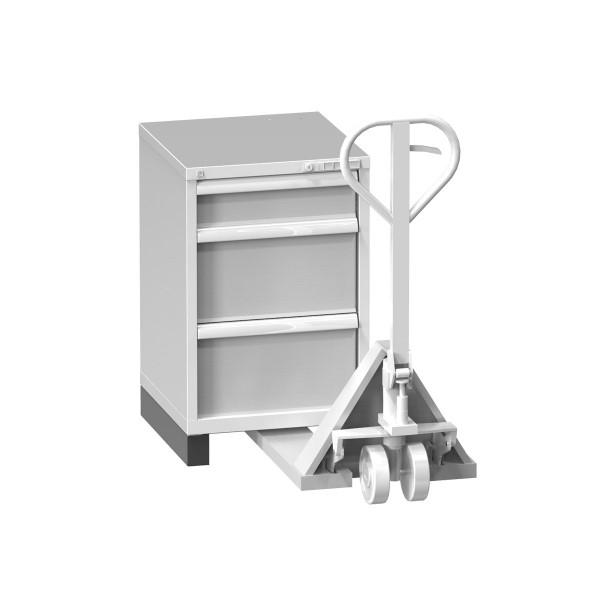 Hubwagensockel für Schubladenschränke