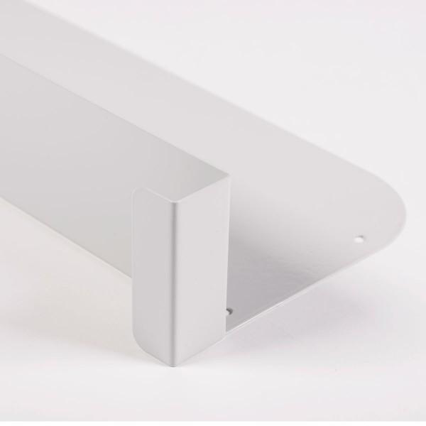 Rechte, mobile Trennwand für 600 mm tiefe Fachböden