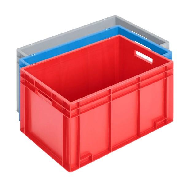 Newbox 70, v1, 600x400x340 mm, Boden glatt und Seitenwände glatt, Farbvarianten
