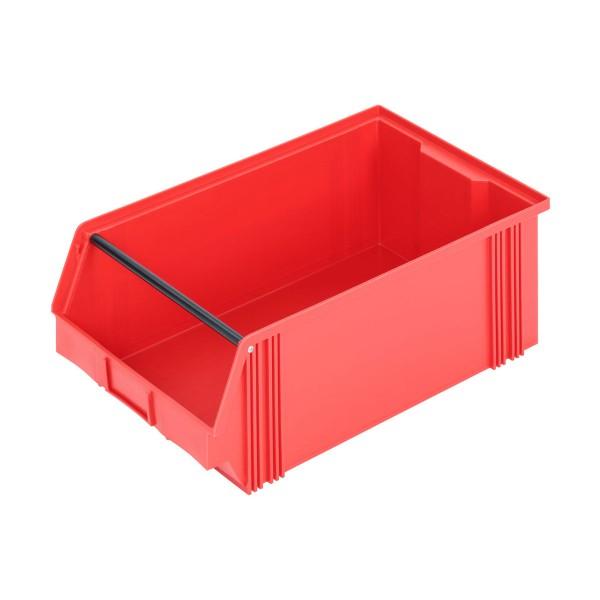 Depofix 2 mit Tragstab, 500x300x200 mm, rot