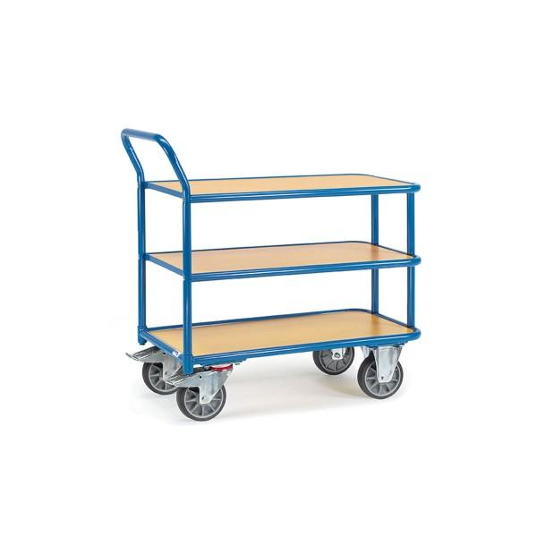Tischwagen mit 3 Ebenen, 400 kg Traglast